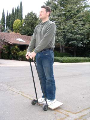 Me on my new Segway Dali LE